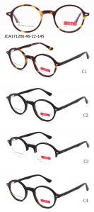 2018 Nieuwe Inzameling, Nieuw Ontwerp, Eyewear, Oogglas, de Optische Frames van de Acetaat voor Unisex-, rond Vorm