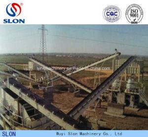 生産ラインのための採鉱設備Td75の平らなゴム・ベルトのコンベヤー