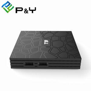 人間の特徴をもつOctaコア最もよくスマートなXbmc IPTVボックスT9 Rk3328 4G 32gはスマートなアンドロイドTVボックスTVの住んでいる