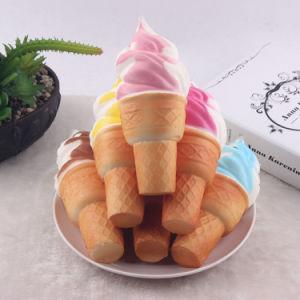 Il telefono lega il giocattolo aumentante lento Squishy del capretto del gelato dei giocattoli