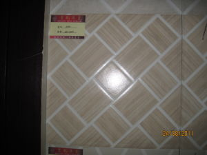 De steen Gebeëindigde Plattelander Verglaasde Tegel van het Porselein voor Vloer