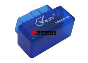 Strumento automatico di esplorazione diagnostica della generazione II mini OBD II, lettore di codice del motore, Bluetooth, azzurro, per Windows & il Android