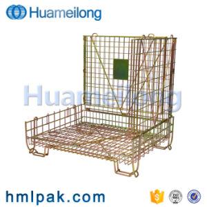 Venda por grosso de zinco soldado profissional durável personalizado de malha de gaiola de contentores
