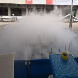 Pijp van de Fontein van het Water van de Mist van de Levering van de fabriek de Spiraalvormige