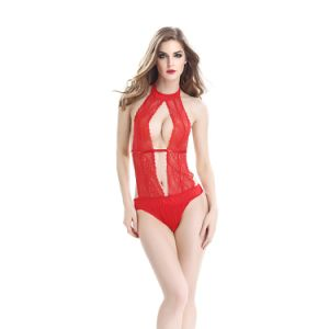 한 조각 Bodysuit 섹시한 란제리 소녀 누드 란제리