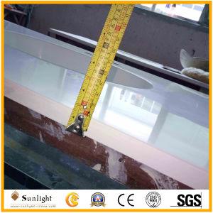In hohem Grade weiße Marmorkultur-Marmorpoliercountertops für Küche, Badezimmer