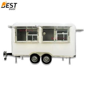 Runde Ecken-Quadrat-mobiler Schnellimbiss-Bus für Verkauf