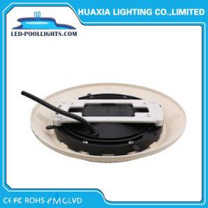 Montaje en superficie blanco cálido bajo el agua IP68 de las luces de la piscina LED