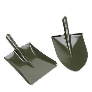 De Schoppen van de Hand van het staal met het Handvat van het Staal voor het Tuinieren