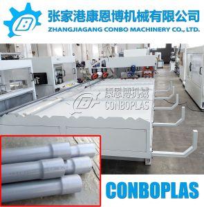 16mm-63mm automático de doble tubo de agua de PVC plástico Belling engaste máquina