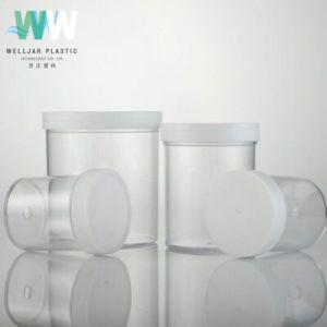 Cosmétique 400g PS Cosmetic large bouche Jar en plastique