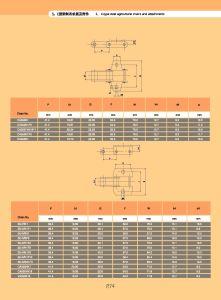 38.4vbsd 의 38.4vssdf1 강철 농업 기계장치 롤러 사슬
