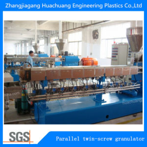 PA die de Gebruikte Tweeling Plastic Pelletiseermachine van de Schroef voor Plastiek korrelen