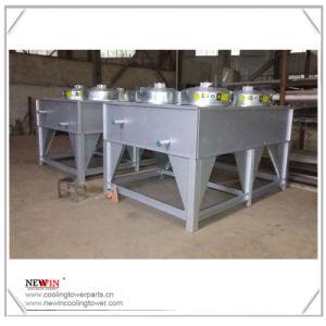 空気によって冷却される熱交換器の乾燥した冷却塔