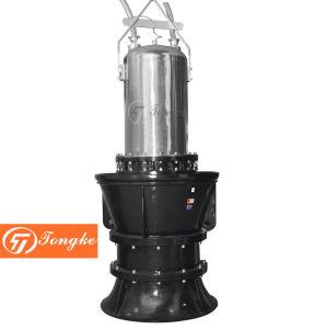 Pompa di elica sommergibile elettrica verticale delle acque luride di grande flusso