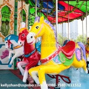 卸し売り遊園地は高品質の二重デッカーのコンベヤーの馬に乗る
