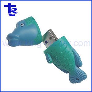 昇進のギフトとしてWallysの魚の形USBのフラッシュ駆動機構