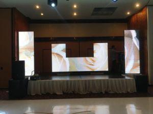 Bonne qualité P7mm Affichage LED couleur intérieure pour la publicité (stade affichage LED)