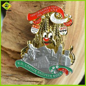 Medaille van uitstekende kwaliteit van de Kunsten van de Douane van het Metaal van de School van de Fabriek de Professionele Wonderbare