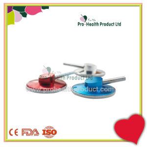 Les fabricants professionnels de la tête de l'hôpital stéthoscope unique en aluminium
