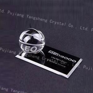 새로운 디자인 오피스 탁상용 수정같은 기업 이름 카드 홀더
