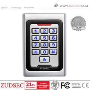Suministro de la fábrica de metal toque biométricos de reconocimiento facial de huellas digitales de control de la puerta de acceso RFID