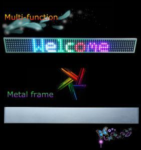 Segno del tabellone del segno dell'automobile di colore completo LED per la pubblicità della visualizzazione