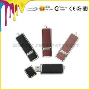 革ブレスレットUSBのフラッシュディスクリスト・ストラップUSBのフラッシュ駆動機構USB3.0の棒
