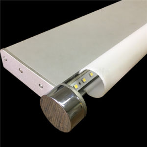 Acrílico esmerilado Lampshade para espejo LED Luz delantera
