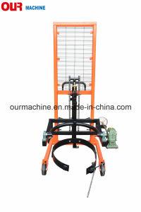 450kg容量Da450の中国からの高揚力油圧ドラムハンドラ製造者
