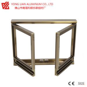 Portas e janelas de alumínio reciclável produzido pela tecnologia de extrusão