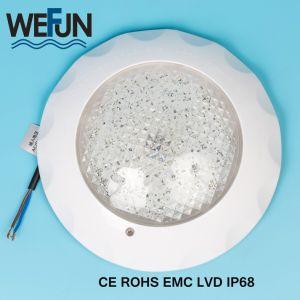 Ce RoHS IP68 12V en la pared plana RGB LED Lámpara de submarinos de la luz de la Piscina