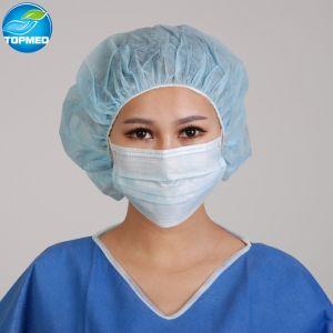 방어적인 부직포 3개 가닥 처분할 수 있는 가면 의학 외과 사용