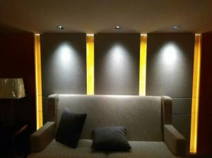 Aluminium3with5w PFEILER LED Hotel vertieft hinunter helle Birne GU10