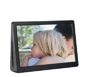 Aiyos Nouveau 15,4 pouces LCD Cadre photo numérique Media Player avec double écran