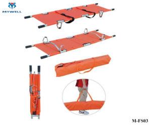 M-FS03 barato de ligas de alumínio de emergência maca de resgate de Combate de dobragem