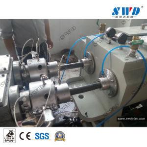 Reforzado con Fibra de PVC Tubo de la línea de extrusión de la extrusora