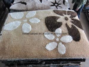 熱い販売の中国3Dデザインポリエステルシャギーなカーペットの敷物