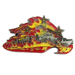 Heiße Verkaufs-Form passte 3D wir Bull an, das Form sterben getroffene Messingandenken-Metallmünze (101)