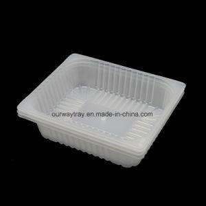 Top Venda Bio-Degradable Embalagem de plástico alimentar que serve a bandeja