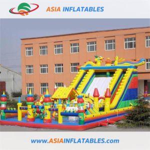 Promoción! En Stock! ! El Parque de Diversiones gigante inflable/Fun City con la tapa