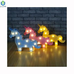 La Led Chine À Nuit Lumineuse Lampe Pour De Décoration Motif Unicorn hCQxtsrd
