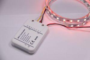 5 illuminazione di striscia personalizzata della striscia flessibile di magia LED Digital di colore CRI>90 Rgbww più nuova DC12V 5050 4 in-1 barra chiara del chip LED