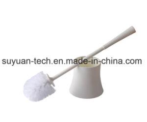 Plástico moderno wc cepillo con mango para cepillo de baño ... 00d2bfe01981