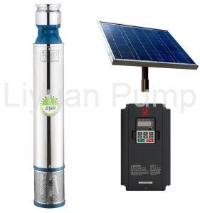 5500 Watt, l'Agriculture de la pompe à eau solaire submersible brushless à puits profond de la pompe solaire