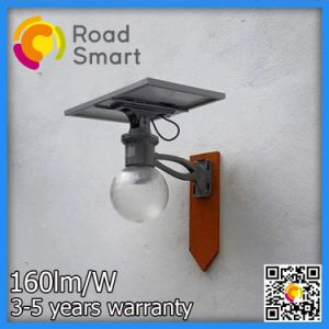 IP65 al aire libre de alta potencia solar calle LED Luces de jardín con panel solar ajustable