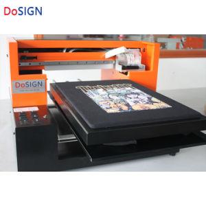 Stampatrice a base piatta del cappello di stampaggio di tessuti di promozione calda in azione
