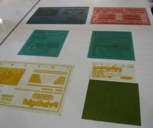 絹のリボンの衣服の洗浄取扱表示ラベル(JR-1241)のためのFlexoのラベルの印字機