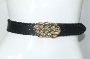 Plate Buckleの女性PU Belts