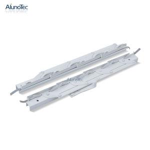Ciego de obturador de láminas de aluminio persianas marco de la ventana